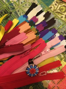 colorful zippers!